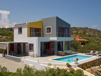 Photo for Villa Stavria.. A Very Modern Detached Property with Stunning Sea and Rural view