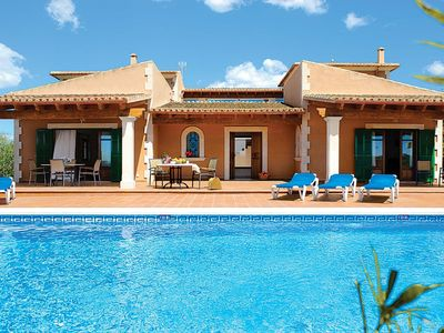 Photo for 4 bedroom Villa, sleeps 8 in Portopetro with Pool, Air Con and WiFi