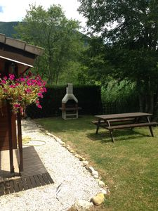 Photo for Secluded cabin with fantastic garden