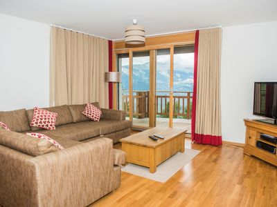 Photo for 2BR Apartment Vacation Rental in Veysonnaz, Valais
