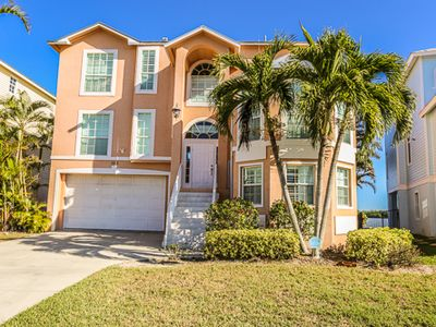 Photo for Stunning bayfront home with pool!
