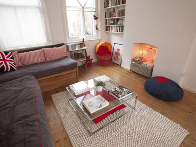 Photo for Very bright, open plan apartment in the heart of trendy Shoreditch