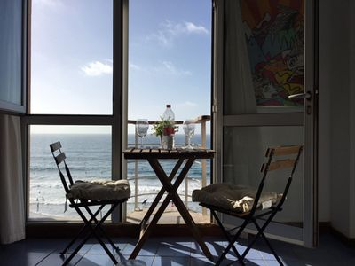 Photo for The Light of Dawn. Apartment 70m facing the sea in first line of Las Canteras