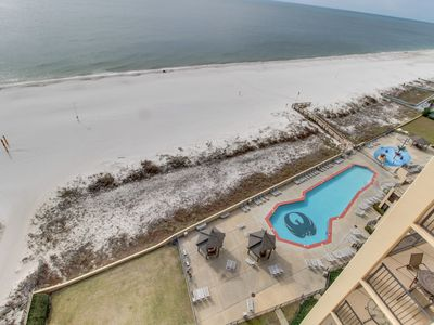 Photo for Gulf-front condo w/ amazing Gulf view & shared pools, hot tubs & sauna!