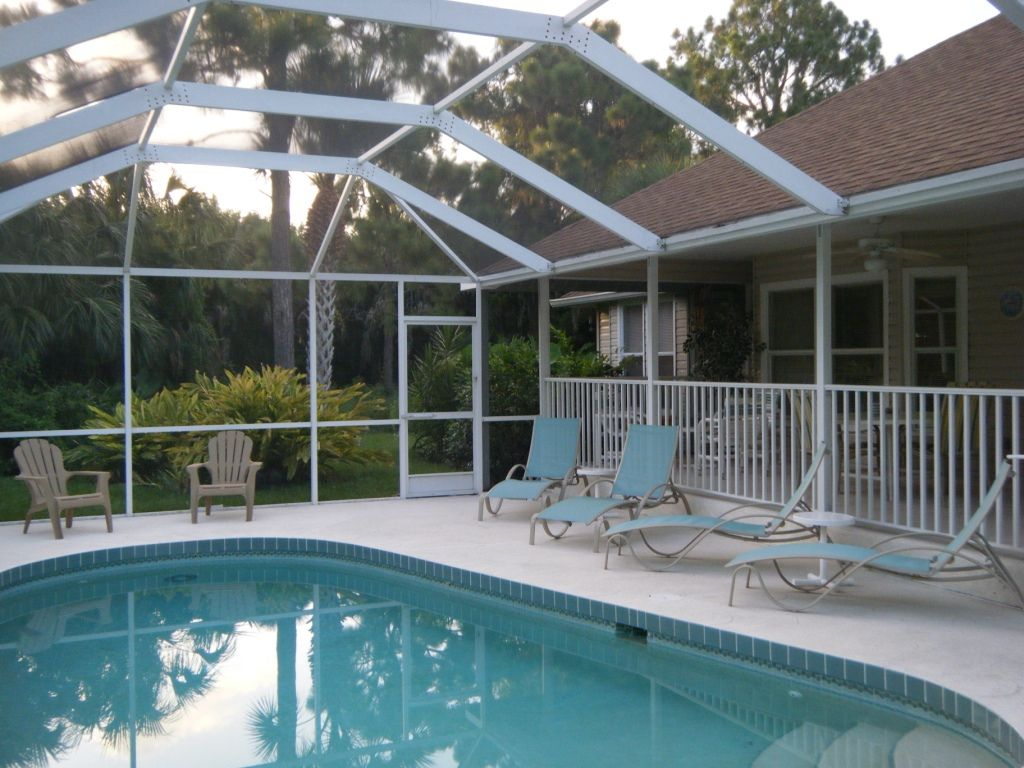 39 old florida style 39 home with heated pool spa near - Florida condo swimming pool rules ...