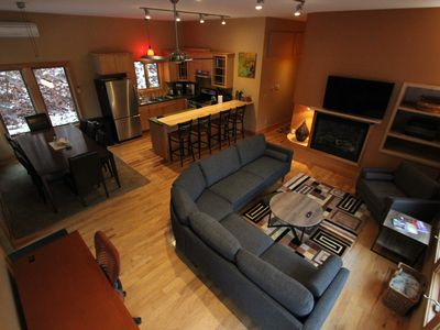 Photo for Quiet Modern Luxury Home w/  Memory Foam Beds, A/C, FAST WiFi and Full Kitchen