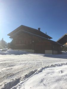 Photo for 'Chalet Bleu', Rtes Des Chavannes, Detached 4 Bed Ski Chalet in Les Gets.