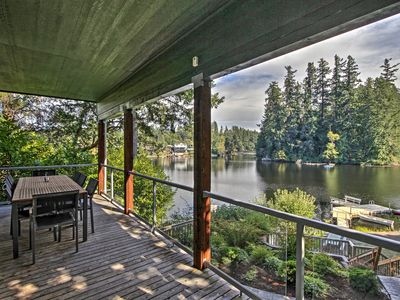 Photo for Renovated Olympia Cabin w/Private Dock on Lake