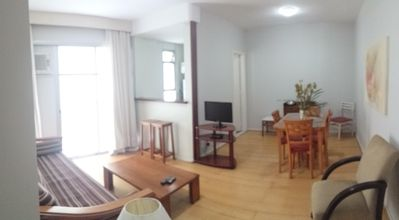 Photo for Ipanema 1 block from the beach up to 4 people, cable TV WiFi10Mb- Air Conditioned
