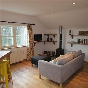 Photo for Beautiful Upper Level Barn Conversion, Stunning Woodland Views - pet friendly