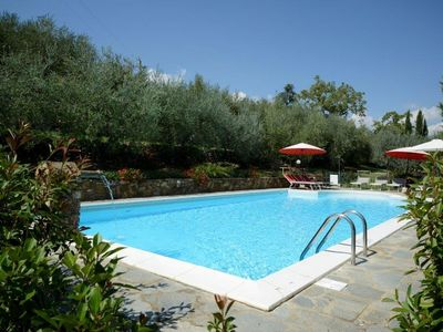 Photo for Villa, private heated gated pool, hot tub, and beautiful mature gardens!