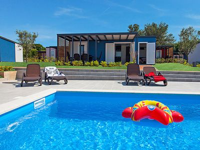 Photo for Vacation home Camping Kastanija  in Novigrad ( Istra), Istria - 6 persons, 2 bedrooms