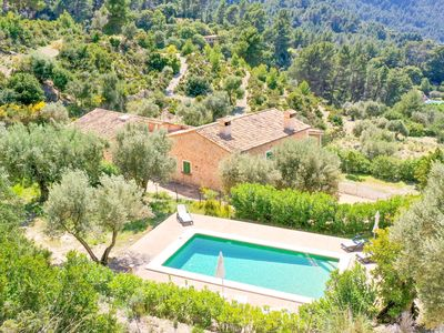 Photo for SUPERB and HUGE Villa Son Llarg with private pool, garden & views