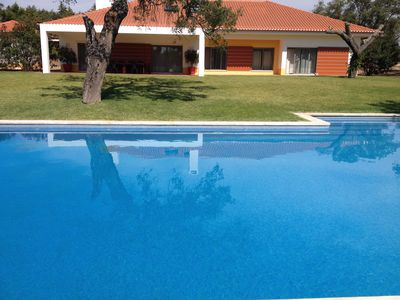 Photo for FAMILY COUNTRY HOUSE SWIMMING POOL (RELAX, NATURE, CYCLING, HORSES, BEACH, BIRDS