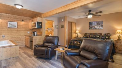 "Photo for Upper Canyon Inn & Cabins - ""Lodge 1"" - Romantic Whirlpool Suite with Fireplace"