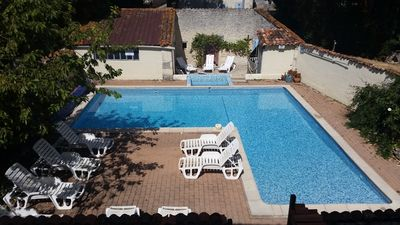 Photo for Les Vallaies holiday cottages with heated pool