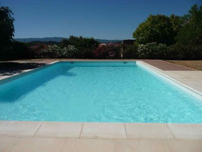 Photo for Beautiful villa in luberon with pool and superb views - free wifi