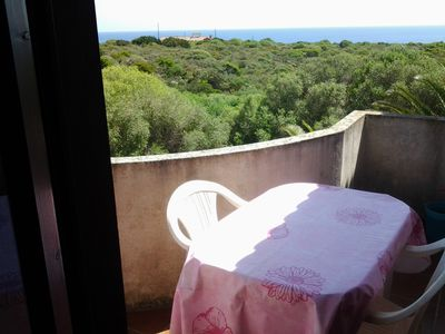 Photo for Two-room apartment in terraced house in Stintino with Sea View