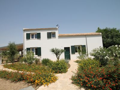 Photo for Charming Country Villa At Four Minutes Walk From A Fabulous Sand Beach