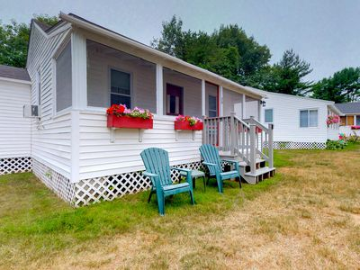 Photo for NEW LISTING! Cozy cottage w/ patio & shared pool - near the beach