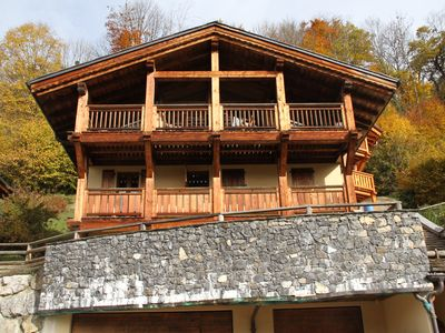 Photo for Stunning Modern Chalet with Hot Tub, Wifi,  Games room and optional Catering