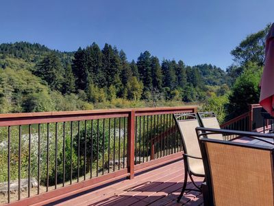 Photo for Redwood Coast River House on the Smith River & Redwood Park - Sleeps 8