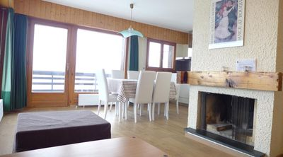 Photo for 3* - 1-bedroom-apartment for 6 people located in the center of the resort at 500m from the lift. Hal