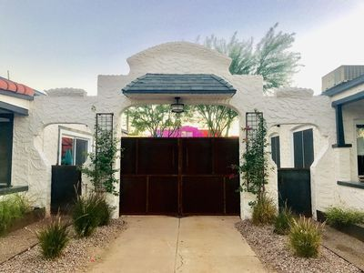 Photo for Urban Desert Bungalow: Historic & Modern - Ideal For Vacations Weddings Events!