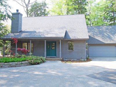 Photo for Nestled In The Woods  Walking Distance to Glen Arbor, Tennis, Park, Shopping