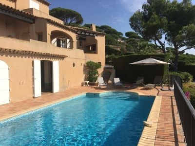 Photo for 3 bedroom Villa, sleeps 6 in Sainte-Maxime with Pool and WiFi