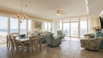 12th Floor 4BR Corner Unit at the New Phoenix Gulf Shores! Water Slide!!