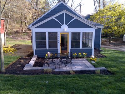 Photo for Freshly Redecorated and renovated Lake Michigan Cottage