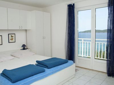 Photo for Two bedroom apartment near beach Kučište - Perna, Pelješac (A-4542-b)