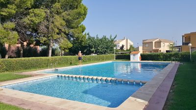 Photo for STUDIO PASCUALINA, Miramar, in villa, 3 people, air-conditioned, wifi, pool,