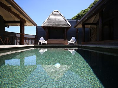 Photo for The Pod House, private marble tiled pool, complete privacy