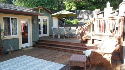 Deck and outside seating