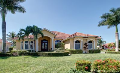 Photo for GOLDENROD - Large Heated Pool and Hot Spa, South Exposure, Walk to Marco Town Center Mall !!