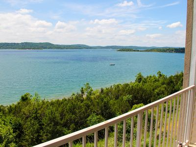 Photo for Exceptional Tablerock Direct Lakefront. Stunning Views & Breathtaking Sunsets!