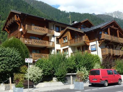 Photo for located at 200 meters from the slopes and 300 m. from Chamonix town center.