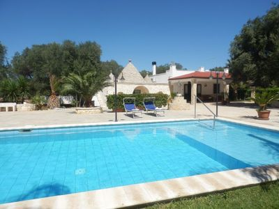 Photo for 2 bedroom Villa, sleeps 6 in Carovigno with Pool, Air Con and WiFi