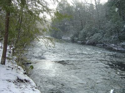 Down stream during winter