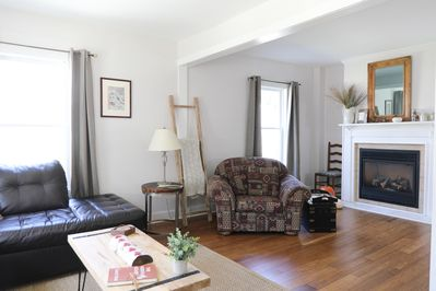 Spacious and cozy for a big family or group.