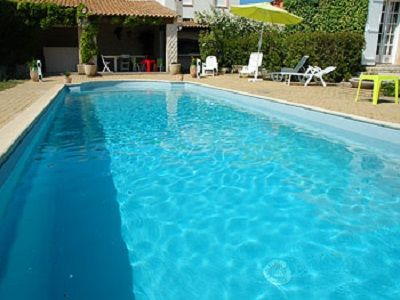 Photo for PROMO Villa in quiet private pool with salt heated air conditioning wiffi Sea 8KM