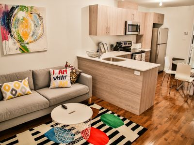 Photo for Big condo in Plateau center with parking + wifi