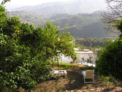 Photo for Unique terraced house & garden in Frigiliana