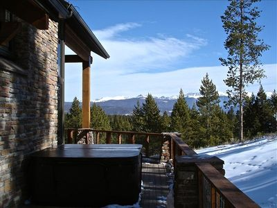 Hot Tub & Views of the Continental Divide