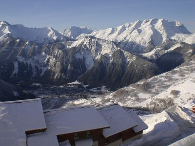 Photo for ALPE D'HUEZ - T2 5pers - Splendid view - 100m from the lifts