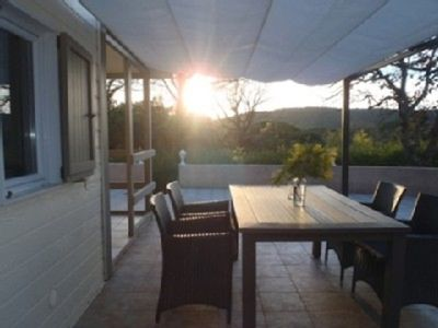 Photo for Chalet in enclosed park