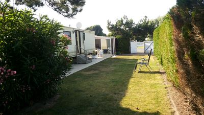 Photo for Mobile home rental 2/4 people on private land located in the Ile d'Oleron