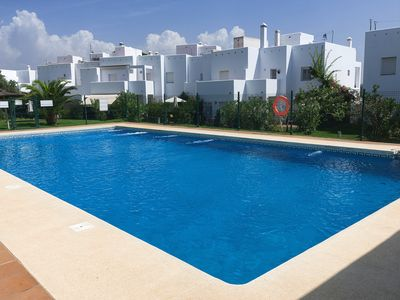 Photo for Spacious, with roof terrace, pool and near the beach - Camino del Tejar